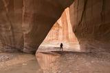 Hiking at Slide Arch, Paria Canyon, Vermillion Cliffs Wilderness, Utah Photo by Howie Garber