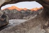 USA, California, Alabama Hills, Mobius Arch Photo by John Ford