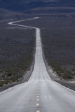 SR 190 Through Panamint Valley, Death Valley, Mojave Desert, California Photo by David Wall