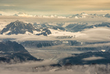Aerial View of Part of Aleutian Mountain Range in Summer Photo by Sheila Haddad