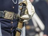 Civil War Soldier Wearing Sword Photo by Sheila Haddad