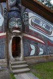 USA, Alaska, Ketchikan, Totem Bight State Historical Park Photo by Savanah Stewart