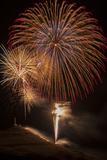USA, Colorado, Salida. July 4th Fireworks Display Photo by Don Grall