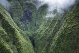Scenic Views of Kauai's Interior Rain Forests from Above Photo by Micah Wright
