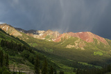 Virga and Storm Moving over Mountains in Colorado Photo by Howie Garber