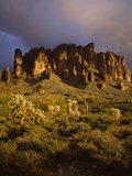 The Superstition Mountains in Lost Dutchman State Park, Arizona Photo by Greg Probst