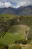 Circular Inca Terraces of Moray, Cusco Region, Urubamba Province, Peru Photo by Douglas Peebles