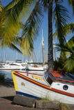 Old Boat Along the Shore at the Marina, Key West, Florida, USA Photo by Brian Jannsen