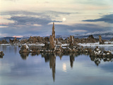 California, Sierra Nevada, Full Moon over Tufa Formations on Mono Lake Photo by Christopher Talbot Frank