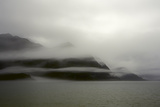 A Foggy Mist Layers the Mountains of Resurrection Bay in Alaska Photo by Sheila Haddad