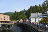 USA, Alaska, Ketchikan, Creek Street Photo by Savanah Stewart
