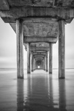 USA, California, La Jolla, Scripps Pier, Sunrise Photo by John Ford