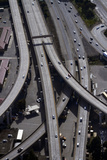 California, San Francisco, Aerial of the Alemany Maze Interchange Photo by David Wall