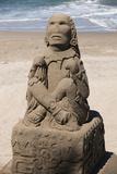 Mexico, Puerta Vallarta. Sand Sculptures Photo by Emily Wilson