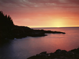 USA, Maine. Acadia National Park. Sunrise over the Atlantic. Photo by Christopher Talbot Frank