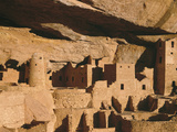 Cliff Palace Ruin in Mesa Verde National Park, Colorado Fotografía por Greg Probst