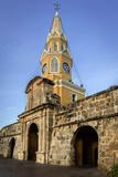 Clock Tower, Plaza de La Paz, Old City, Cartagena, Colombia Photo by Jerry Ginsberg