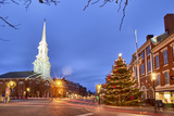 The North Church and Market Square, Portsmouth, New Hampshire Photo by Jerry & Marcy Monkman