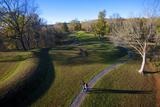 The Great Serpent Mound, Ohio Brush Creek, Adams County, Ohio Photo by Richard Wright