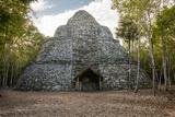 Xaibe, a Lookout Tower, Coba Ruins, Playa del Carmen, Yucatan, Mexico Photo by Charles O. Cecil