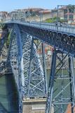Europe, Portugal, Oporto, Douro River, Dom Luis I Bridge Photo by Lisa S. Engelbrecht