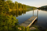 A Small Dock in Long Pond in New Hampshire's White Mountains Photo by Jerry & Marcy Monkman