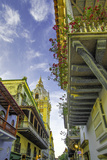 Wonderful Spanish Colonial Architecture, Old City, Cartagena, Colombia Photo by Jerry Ginsberg