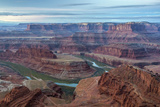 Utah, Dead Horse Point State Park. Colorado River Gooseneck Formation Photo by Cathy & Gordon Illg