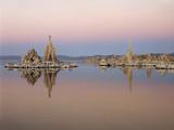 California, Sierra Nevada, Tufa Formations at Mono Lake at Sunrise Photo by Christopher Talbot Frank