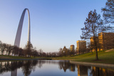 The Gateway Arch in St. Louis, Missouri. Jefferson National Memorial Photo by Jerry & Marcy Monkman