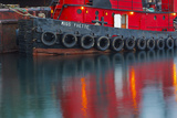 Tugboat Alongside the Barge, Cape Cod, Portsmouth, New Hampshire Photo by Jerry & Marcy Monkman