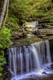 Pennsylvania, Benton, Ricketts Glen SP. Delaware Falls Cascade Photo by Jay O'brien