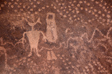 USA, Arizona, Mystery Valley Petroglyph Panel Photo by John Ford
