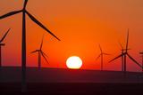 Washington, Walla Walla. Windmills. Stateline Wind Project Photo by Brent Bergherm