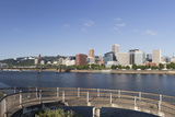 Oregon, Portland. Downtown from across the Willamette River Photo by Brent Bergherm