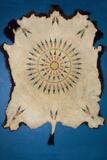 Painted Buffalo Skin, On-A-Slant Indian Village Museum, South Dakota Photo by Angel Wynn