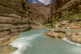 Havasu Creek. Mineral Colored Water. Grand Canyon. Arizona. USA Photo by Tom Norring