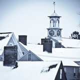 Roof Tops in Winter in Portsmouth New Hampshire's South End Photo by Jerry & Marcy Monkman