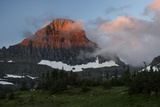 USA, Montana, Glacier National Park. Sunrise on Reynolds Mountain Photo by Don Grall