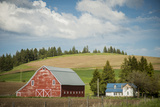 Idaho, Camas Prairie, Keuterville Farm and Barn Photo by Alison Jones