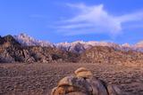 Mt Whitney and Lone Pine Peak, Alabama Hills Region, California Photo by James White