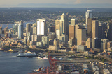 Aerial View of Seattle, Washington State, USA Photo by Stuart Westmorland