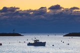 Lobster Boat at Dawn in Rye Harbor, New Hampshire Photo by Jerry & Marcy Monkman