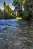 USA, Oregon, Mt. Hood National Forest. Sandy River Landscape Photo by Steve Terrill