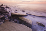 Waves Wash over the Rocks at Rye Harbor SP in Rye, New Hampshire Photo by Jerry & Marcy Monkman