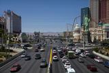 Traffic at Tropicana Avenue and the Strip, Las Vegas, Nevada Photo by David Wall