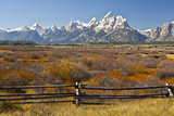 Autumn, Cunningham Cabin Area, Grand Tetons, Grand Teton NP, Wyoming Photo by Michel Hersen