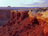 Canyonlands NP, Utah. White Rim Sandstone and Cutler Formation, Sunset Photo by Scott T. Smith