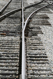 Close Up of Railroad Tracks, Santa Fe, New Mexico, USA Photo by Julien McRoberts