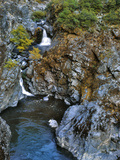 USA, Oregon. Stair Creek Falls Along the Rogue River Photo by Steve Terrill